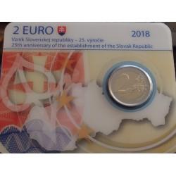 Eslováquia - 2 Euro - 2018...