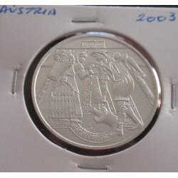 Aústria - 10 Euro - 2003 -...
