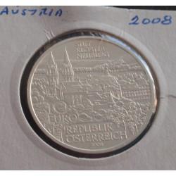 Aústria - 10 Euro - 2008 -...