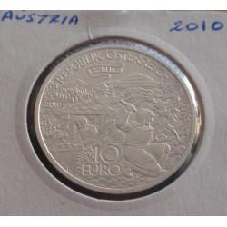 Aústria - 10 Euro - 2010 -...