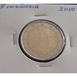 Finlândia - 2 Euro - 2010 -...
