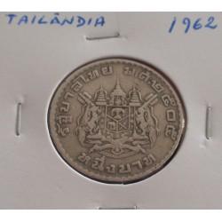 Tailândia - 1 Baht - 1962