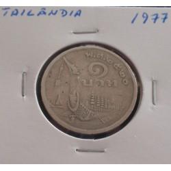 Tailândia - 1 Baht - 1977