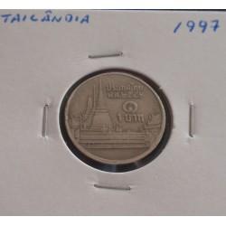 Tailândia - 1 Baht - 1997
