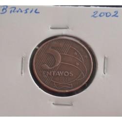 Brasil - 5 Centavos - 2002