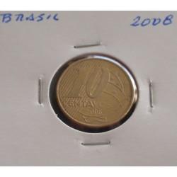Brasil - 10 Centavos - 2008