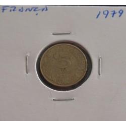 França - 5 Centimes - 1979