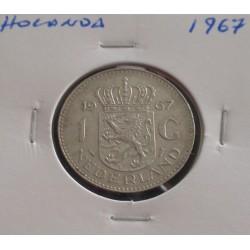 Holanda - 1 Gulden - 1967