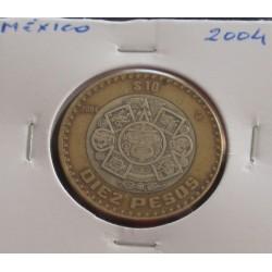 México - 10 Pesos - 2004