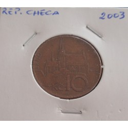 Rep. Checa - 10 Korun - 2003