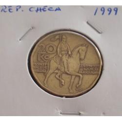 Rep. Checa - 20 Korun - 1999