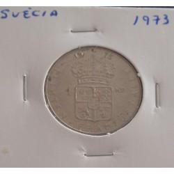 Suécia - 1 Krona - 1973