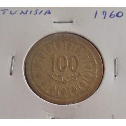 Tunisia - 100 Millim - 1960