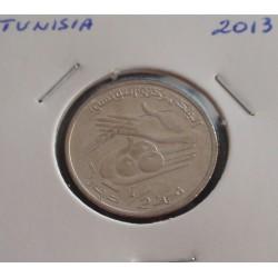 Tunisia - 1/2 Dinar - 2013