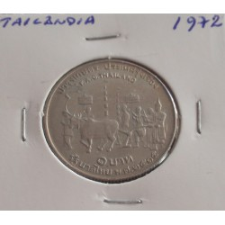 Tailândia - 1 Baht - 1972