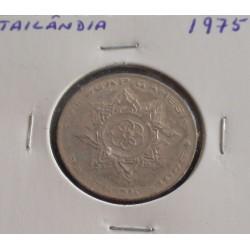 Tailândia - 1 Baht - 1975