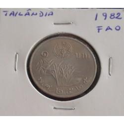 Tailândia - 1 Baht - 1982 -...