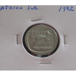África do Sul - 1 Rand - 1992