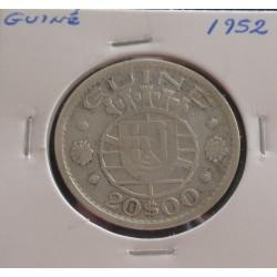 Guiné - 20 Escudos - 1952 -...
