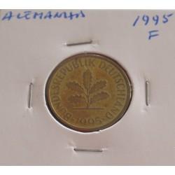 Alemanha - 10 Pfennig - 1995 F