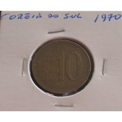 Coreia do Sul - 10 Won - 1970