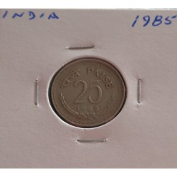 India - 25 Paise - 1985