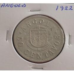 Angola - 50 Centavos - 1922