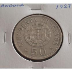 Angola - 50 Centavos - 1927