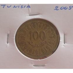 Tunísia - 100 Millim - 2005