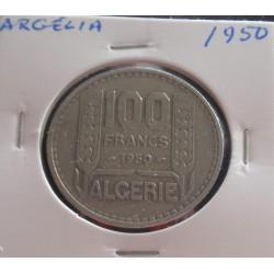 Argélia - 100 Francs - 1950