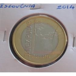 Eslovénia - 3 Euro - 2014
