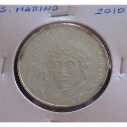 S. Marino - 5 Euro - 2010 -...