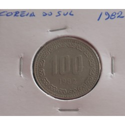 Coreia do Sul - 100 Won - 1982
