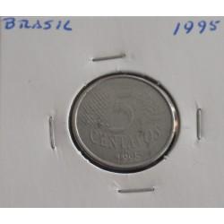 Brasil - 5 Centavos - 1995