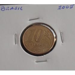 Brasil - 10 Centavos - 2005