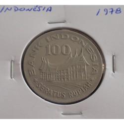 Indonésia - 100 Rupiah - 1978