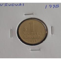 Uruguai - 1 Peso - 1998