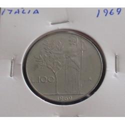 Itália - 100 Lire - 1969