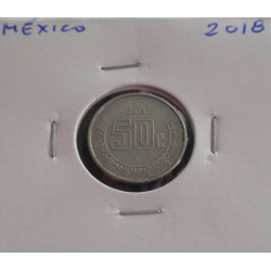 México - 50 Centavos - 2018