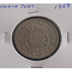 India - 3 Escudos - 1959