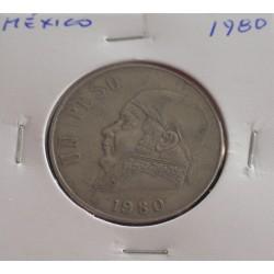 México - 1 Peso - 1980