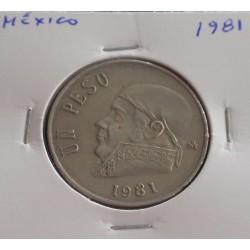 México - 1 Peso - 1981