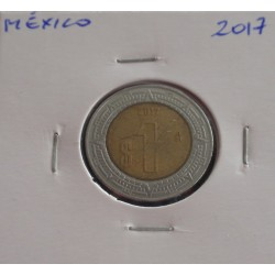 México - 1 Peso - 2017
