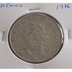 México - 5 Pesos - 1976