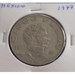 México - 5 Pesos - 1977