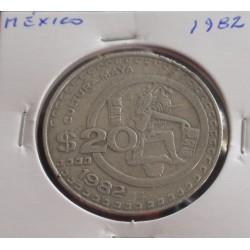 México - 20 Pesos - 1982