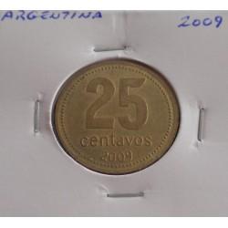 Argentina - 25 Centavos - 2009