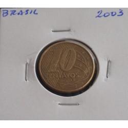 Brasil - 10 Centavos - 2003