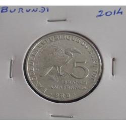 Burundi - 5 Francs - 2014