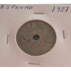 Espanha - 25 Centimos - 1927